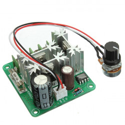 2Pcs 6V-90V 15A Pulse Width Control PWM DC Motor Speed Regulator Controller Switch
