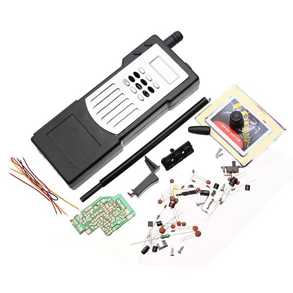 2stk DIY Elektronisk Intercom Kit Walkie Talkie Interphone Læring Kit Arduino SCM & 3D-printer