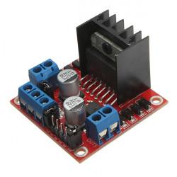 2stk L298N verdoppeln h Brücke DC Schrittmotortreiber Modul Controller Board für Arduino