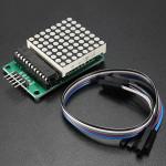 2Pcs MAX7219 Dot Matrix MCU LED Display Control Module Kit For Arduino With Dupont Cable Arduino SCM & 3D Printer Acc