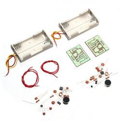 2stk Trådløs Mikrofon DIY Kit DIY Elektronisk Læring Kit