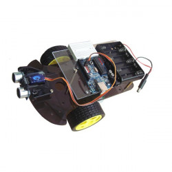 2WD Ultrasonic Smart Car Kits Smart Robot Car Kits For Arduino