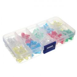 300stk 5mm 5 Farben LED Licht emittierende Dioden Assorted Kit