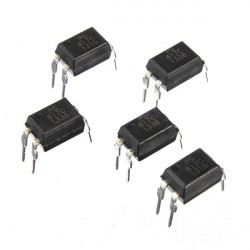 30Pcs 5V 5mA PC817 LTV817 EL817C Photoelectric Coupler For Sharp