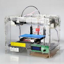 3D-skrivare 2.0 Monterade Försluten Genomskinlig Shell