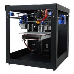 3D Printer Samlet Me Creator Mini Desktop Kit med 2004 Display 0.3mm Dyse 1.75 Mm Materiale