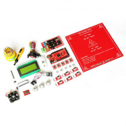 3D Printer DIY Kit Mega2560 Ramps1.4 A4988 LCD2004 MK2A Endestop Thermistor