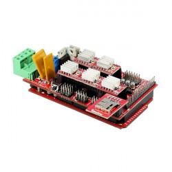 3D-skrivare Byggsats Ramps1.4 A4988 Mega2560 MicroSD Ändstopp Termistor