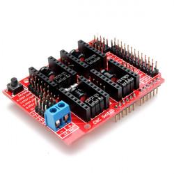 3D-skrivare Gravyrmaskin A4988 Drive Anknytningskort CNC Skärmad V3 för Arduino