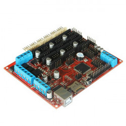 3D Printer Megatronics V2.0 Reprap Stepper Motors Driver Motherboard