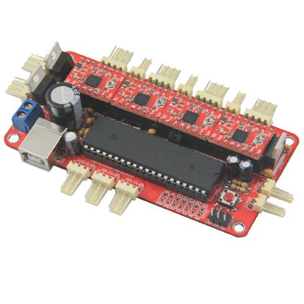 3D Drucker Motherboard Reprap Sanguinololu Ver1.3a + 4stk A4988 Vorstand Arduino SCM & 3D Drucker
