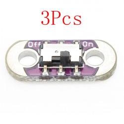 3Pcs AYZ0202 LilyPad Slide Switch