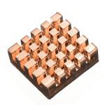 3stk Kobber Køleplade Køling Easy Install for Raspberry Pi Arduino SCM & 3D-printer