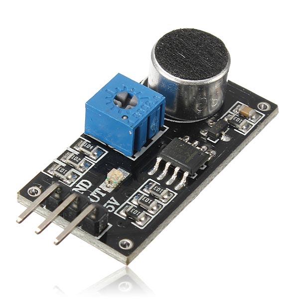 3st Sound Detektering Sensor Modul Elektretmikrofon för Arduino LM393 Chip Arduino SCM & 3D-skrivare