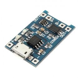 3st USB Litium Batteriladdare Modul med Laddning och Skydd