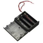 3 x AA Batterie Halter Kasten Geschlossene Box OFF / ON Schalter Mit Drähten Arduino SCM & 3D Drucker