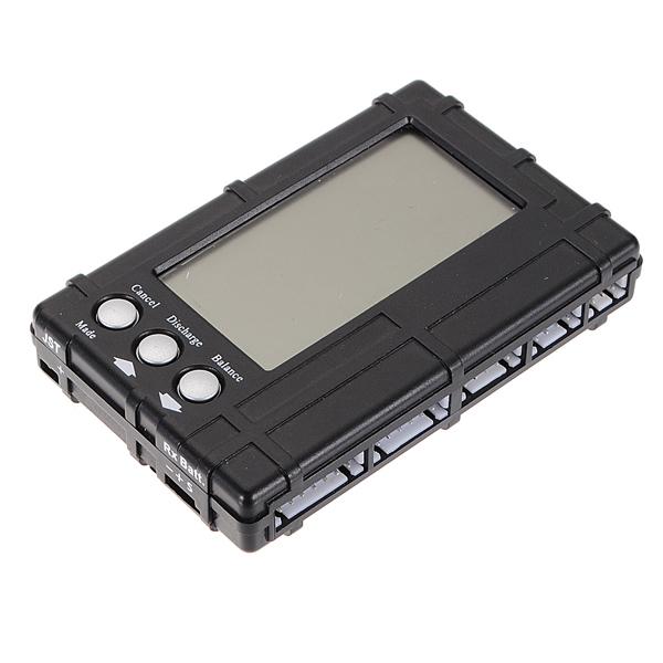 3 i 1 RC 2s-6s LCD Li-Po Battery Balancer + Spænding Meter Tester + udledningen Batterier & Opladere