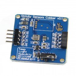 4-in-1 Temperature + Pressure + Altitude + Light Sensor Module For Raspberry Pi / Arduino