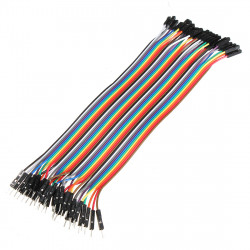 40Pcs 20cm Male To Female Jump Cable For Arduino