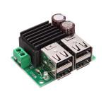 4 USB Strömförsörjning Laddningsmodul 5A 12V - 24V Vrid 5V för Phone Navigation Universal Car Arduino SCM & 3D-skrivare