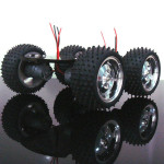 4WD Smart Robot Car Chassis Kits Metal Motor Stor Torque for Arduino Arduino SCM & 3D-printer
