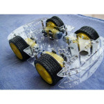 4WD Smart Robot Car Chassis Kits med Strong Magneto Speed Encoder for Arduino 51 Arduino SCM & 3D-printer