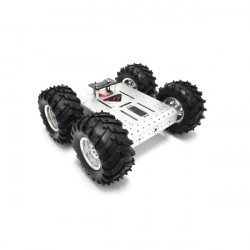 4WD WIFI Lang Off Road Roboter Smart Car Kit für Arduino Raspberry Pi