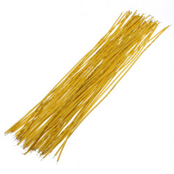 4 X 50Pcs Yellow Two Ends With Tin-plated 20cm Breadboard Jump Cable