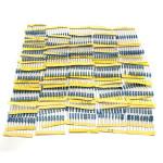 500st 1 / 2W 0.5W 50 Värden 1% Metallfilmsmotstånd Assorted Kit Arduino SCM & 3D-skrivare