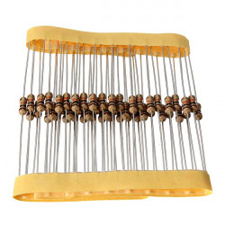 50 Pcs 10K Ohm 0.25W 1/4W Power ±5% Carbon Film Resistors