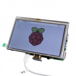 5 Inch HDMI TFT LCD Touch Screen For Raspberry PI 2 Model B / B+ / A+ / B