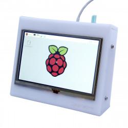 """5"""" HDMI TFT LCD-pekskärm för Raspberry PI med Låda"""