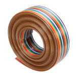 5M 1.27mm 20P DuPont Kabel Rainbow Flat Line Support Wire Loddet Arduino SCM & 3D-printer