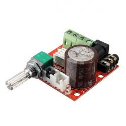 5stk 12V Mini Hi-Fi PAM8610 2x10W Audio Stereo Forstærker Board Dual Channel