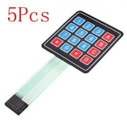 5Pcs 16Keys 4 x 4 SCM Matrix External Expansion Keyboard Contral Board