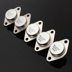 5st 2N3055 NPN High Power Förstärkare och Switching Transistor TO-3 Metall Fodral
