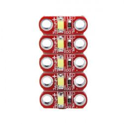 5er 3V   5V 40MA LilyPad LED Modul