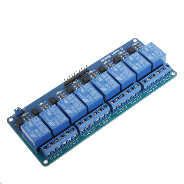 5Pcs 5V 8 Channel Relay Module Board For Arduino PIC AVR DSP ARM Arduino SCM & 3D Printer Acc