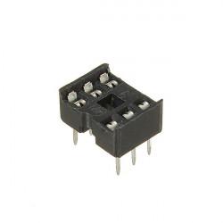 5 PC 6 Pins IC Sockel 2,54 mm Weit DIP Sockel Adapter Solder Typ Schwarz