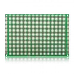 5er 80 * 120 mm FR 4 Double Side Prototype PCB Printed Circuit Board