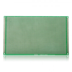 5Pcs 90*150mm FR-4 Double-Side Prototype PCB Printed Circuit Board