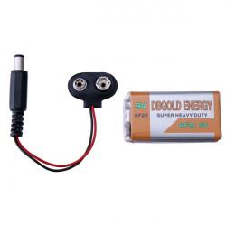 5er 9V Batterie und Buckle Snaps Abzug für Arduino 2560 / 2560R3 / UNO / UNO R3