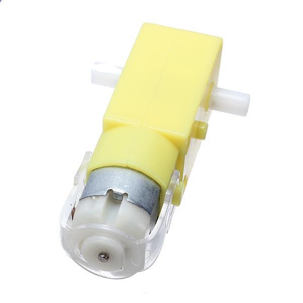5Pcs DC 3V-6V Dual Axis Gear Reducer Motor For Arduino Smart Car Arduino SCM & 3D Printer Acc