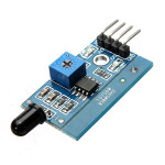 5Pcs LM393 760nm - 1100nm IR Infrared Flame Sensor Module For Arduino Arduino SCM & 3D Printer Acc
