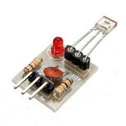 5st Laser Mottagare Icke-modulator Tub Givarmodul för Arduino