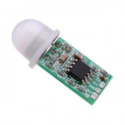 5st Mini IR Pyroelektrisk IR PIR Sensor Detektering Modul