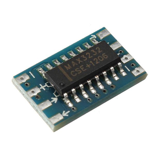 5Pcs Serial Port Mini RS232 To TTL Converter Adapter MAX3232CSE Arduino SCM & 3D Printer Acc
