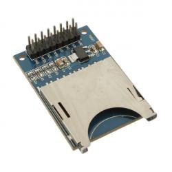 5st Slot Kontakt Reader SD-kort Modul för Mp3 Arduino Kompatibel
