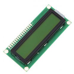 5st Gul Bakgrundsbelysning 1602 Tecken LCD-display Modul för Arduino