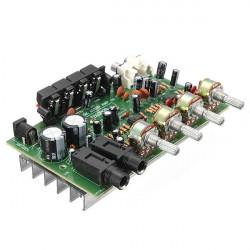 60W 12V Hi-Fi Digital Stereo Ljudförstärkare Volym Styrkort